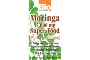 Bio Nutrition Moringa 5000mg 60 Vege Caps