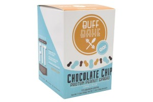 Buff Bake Chocolate Chip Protein Peanut Butter Spread 10 Pack