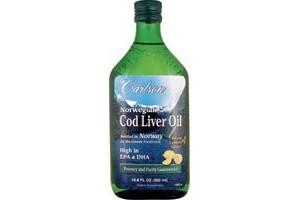 Carlson Norwegian Cod Liver Oil Lemon 250ml
