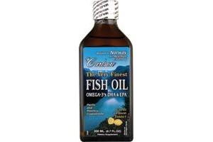 Carlson Finest Fish Oil Liquid Omega 3 Lemon Flavor 500mL