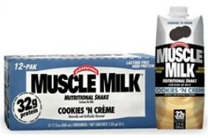 Muscle Milk RTD 17 oz 12/Case