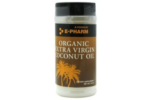 E-Pharm Organic Extra Virgin Coconut Oil  16 Oz