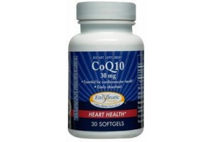 Enzymatic Therapy Co Q10 30mg 60 Softgels
