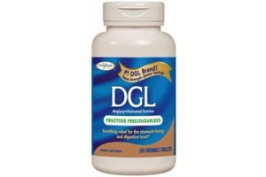 Enzymatic Therapy DGL 100 Chewable Tablets