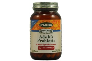 Flora (Udo's Choice) Udo's Choice Advanced Adult's Probiotic 60 Capsules