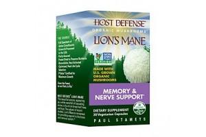Fungi Perfect Host Defense Lion's Mane 30 Vege Caps