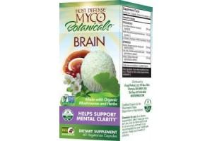 Fungi Perfect Host Defense MycoBotanicals Brain 60 Vege Caps