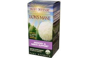 Fungi Perfect Host Defense Lion's Mane 60 Vege Caps