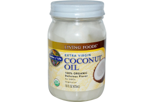 Garden of Life (Non-GMO) Organic Extra Virgin Coconut Oil 16 oz
