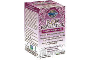 Garden of Life Raw Resveratrol 350mg 60 Vege Caps