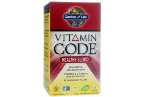 Garden of Life Vitamin Code Healthy Blood 60 Vege Caps
