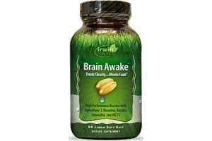 Irwin Naturals Brain Awake 60 Liquid Soft Gels