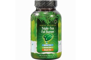 Irwin Naturals Triple-Tea Fat Burner 75 Liquid Soft Gels