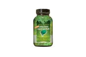 Irwin Naturals Men's Living Green Liquid-Gel Multi 90 Gels