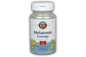 Kal Melatonin Lemon 5mg 60 Lozenges