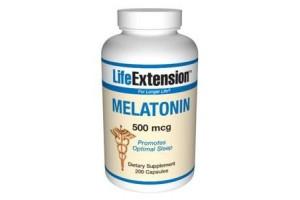 Life Extension Melatonin 500mcg 200 Caps