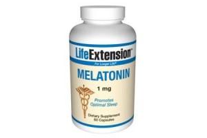 Life Extension Melatonin 1mg 60 Caps