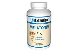 Life Extension Melatonin 3mg 60 Caps