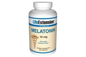Life Extension Melatonin 10mg 60 Caps