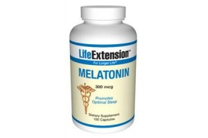 Life Extension Melatonin 300 mcg 100 Vege Caps