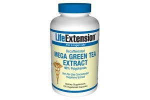 Life Extension Mega Green Tea Extract (decaffeinated) 100 Vegecaps