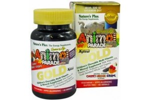 Nature's Plus Animal Parade Gold (Kids Chewable Multi) Natural Cherry 60 tabs