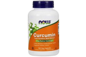 Now Foods Curcumin Extract 95% 665 Mg 120 Vegetable Capsules