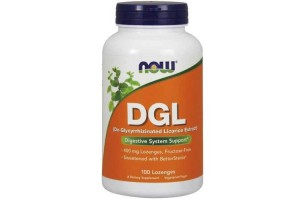 Now Foods DGL 400 Mg 100 Lozenges
