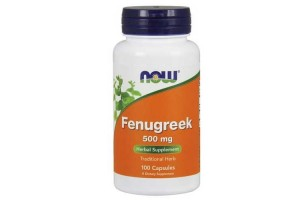 Now Foods Fenugreek 500 Mg 100 Capsules