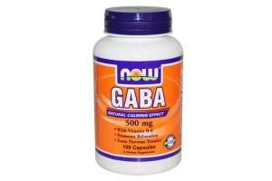 Now Foods Gaba 500 Mg 100 Capsules