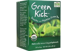 Now Foods Green Kick Sencha and Matcha Green Tea 24 Bags