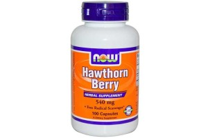 Now Foods Hawthorn Berry 540 Mg 100 Capsules