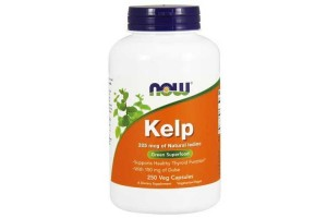 Now Foods Kelp Caps 250 Vegetable Capsules
