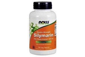 Now Foods Silymarin Milk Thistle 300mg 100 Vege Caps