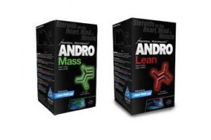 AndroLean & AndroMass Ripped Stack