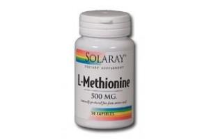 Solaray Free Form L-Methionine 500mg 30 Caps