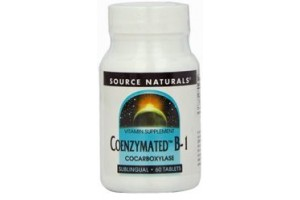 Source Naturals Coenzymated B-1 Sublingual 25mg 60 Tablets