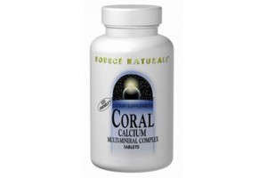 Source Naturals Coral Calcium 600mg 60 Tablets
